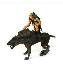 LORD OF THE RINGS - SHAARKU ORC on WARG figure NICE!