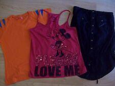 Bershka lote de dos camisetas mas una de regalo.Mira fotos!!!!!
