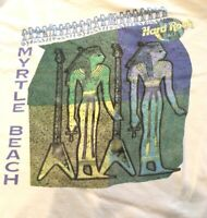 Hard Rock Cafe Myrtle Beach T Shirt Heavy Tee Double Sided Vintage Egyptian US L