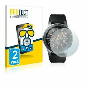 Samsung Galaxy Watch (46 mm) ,  2 x BROTECT® Matte Screen Protector, Anti-Glare