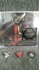 Mayhem Daemon CD 3 Guitar Picks watain immortal rotting marduk 1349 bathory new