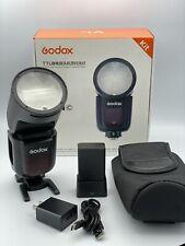 Godox V1-C Wireless Adjustable Flash for Canon Dslr