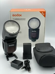 Godox V1-C Wireless Adjustable Flash for Canon DSLR
