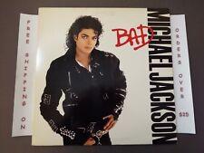 MICHAEL JACKSON BAD 1987 LP W/ ORIG INNER OE 40600