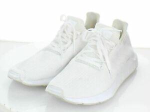 N1 $85 Men's Sz 14 M Adidas Swift Running Sneaker In Cloud White