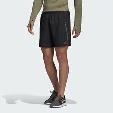 Running Pantalones Cortos para Hombre Adidas el sábado sostenible Fitness Bolsillo del Teléfono Negro