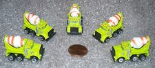 Lot of 5  Micro Machines Concrete Mixer miniature  NEW