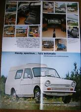 DAF BROCHURE 33 VAN POSTER PART MANUAL 66 CAR