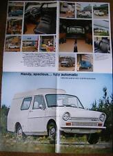 DAF BROCHURE 33 VAN POSTER PART MANUAL 66 CAR
