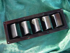 BOAT VENT BLACK 5 LOUVER MANY BOATS MARINE WELLCRAFT SEA RAY OTHERS TOO