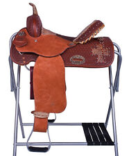"Alamo Gator Cross Barrel Racing Western Saddle 14"""