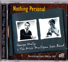GEORGE MELLY & MICK MULLIGAN JAZZ BAND- Nothing Personal 2-CD (NEW) 1950-57 Recs