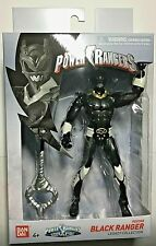 "Power Rangers Legacy In Space Psycho Black Ranger 6"" Action Figure. In Stock!"