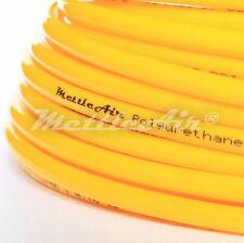 "1pc Polyurethane Tubing 1/4"" OD YELLOW 30 m ( 98 ft)  PU MettleAir PU1/4-30Y"
