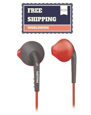 Philips SHQ1200/28 ActionFit Sports In-Ear Headphones, Orange and Grey
