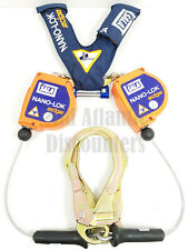 3m DBI Sala Nano-Lok Edge Twin Leg SRL with Rebar Hooks Harness Fall Protection
