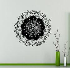 Mandala Wall Vinyl Decal India Henna Flower Vinyl Sticker Abstract Home Decor 2