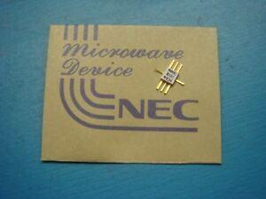 (1) NEC UPG101B WIDE-BAND AMPLIFIER MEDIUM POWER IF GAIN 50MHz to 3GHz