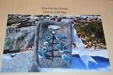 Wool in the Woods Knitting Pattern Felted Hostess Gift Bag