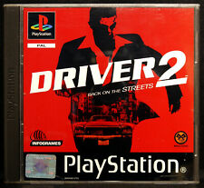 Driver 2 : Back On The Streets (Sony PlayStation 1) 2000, Infogrames - Complete