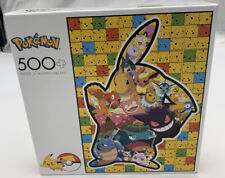 Pokemon Puzzle 500 Piece Pikachu Silhouette Buffalo Games and Puzzles 03350