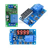 Digital DC 12V Trigger Cycle Automation Timer Delay Relay Module 3/4 Button LED