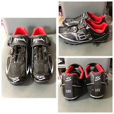 Spiuk Cycling Shoes Good Condition Black Great Ventilat Mens Size 40,5 (P96)