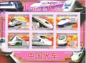 9/7. Fernschnellzüge China ° GUINEA 2008 °