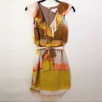 Jessica Simpson Chiffon Dress Sleeveless Women's Size 2