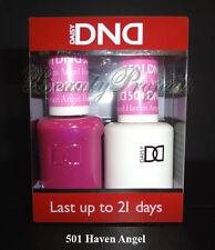 DND Daisy Soak Off Gel Polish Haven Angel 501 full size 15ml LED/UV gel duo