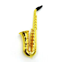 1PCS Hot Sax Saxophone Pipe Smoking Tobacco Cigarette Pipes Holder Golden