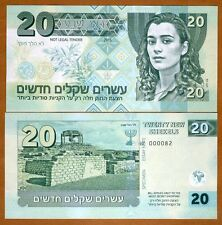 Israel, 20 New Shekels, Private Issue, Specimen / Essay 2015,UNC
