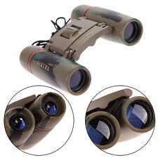 Day Night Vision 30 x 60 Zoom Travel Folding Binoculars Telescope with Case