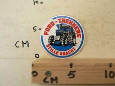 STICKER,DECAL FORD TREKKERS STILLE KRACHT TREKKERS TRACTOR