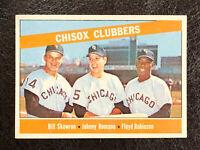 1966 Topps Chisox Clubbers Skowron/Romano/Robinson Card #199 NM-MT Very Nice