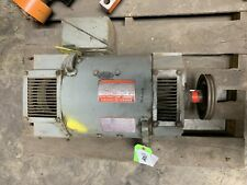 General Electric 5cd163ka001a801 Kinamatic 15 Hp Dc Motor With Pulley