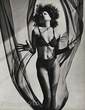 1987 Vintage 11x14 DIANA ROSS Semi Nude Body Singer Music Photo Art ~ HERB RITTS