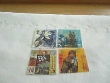 G B 1999 USED  SET OF 4 STAMPS SG 2084-7 SETTLERS TALE.  G17/144