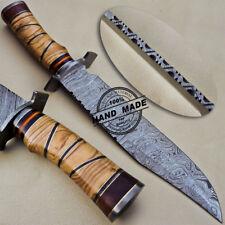 Cuchillo Machete Damasco Hecho a Mano Personalizada Damasco Cuchillo 1606