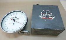 """Dillon 20,000 x 100 Lb. Capacity Dynamometer , 10"""" Dial , Shackles, *Calibrated*"""