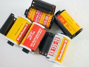 5 Rolls of Kodak KODACHROME vintage 35mm FILM - DT