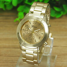 New Sale Ladies Women Girl Unisex Stainless Steel Quartz Wrist Watch Reliable