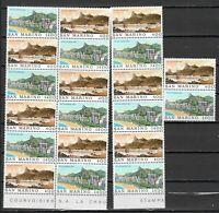 DEALER STOCK SAN MARINO MNH Nuovi 1983 Rio de Janeiro 2v 10 SETS s32728