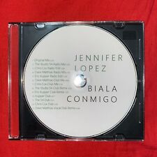 Slim CD Jewel Case w/FREE Jennifer Lopez Baila Conmigo Remix CD
