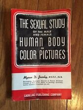 Sexual Study of Male and Female Human Body in Color Pictures 1942 Myron D Jacoby