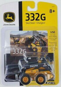 ERTL 1/50th John Deere 332G Skid Loader