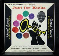 Rex Stewart - Just For Kicks LP VG+ G.A. 346-S.D. Stereo 1st Press Vinyl Record