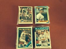 1986 1988 1990 1996 Topps Seattle Mariners 4 Team Sets