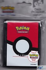 POKEBALL POKEMON TCG ULTRA PRO DECK PROTECTOR CARD SLEEVES