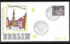 ALT BERLIN 1962 2x ERSTTAGSBRIEF FDC MINR 226 + 229 ERSTAUSGABE GESTEMPELT